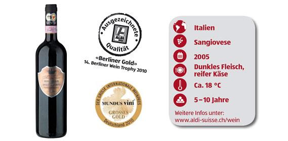 Brunello di Montalcino DOCG , M�rz 2012