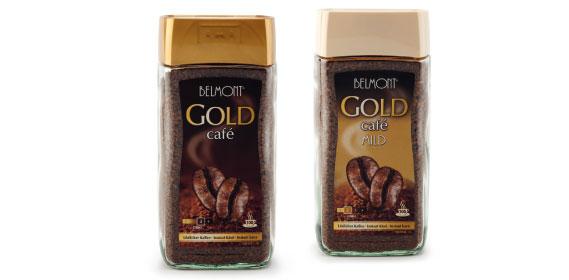 Instant-Kaffee Gold, Januar 2014