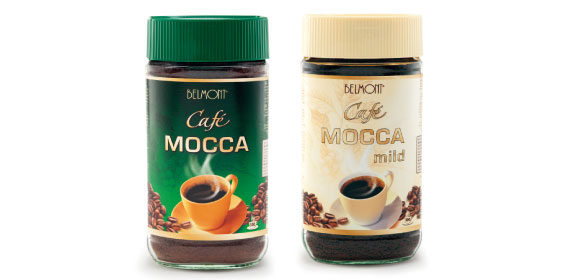 Instant-Kaffee Mocca, Januar 2014