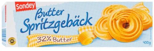 Butter-Spritzgebäck, Juli 2017