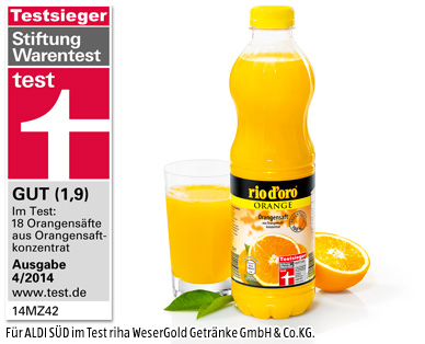 Orangensaft (PET), November 2014