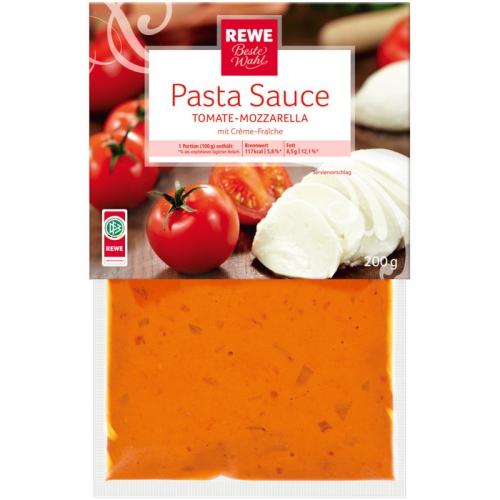 Pastasauce Tomate-Mozzarella, M�rz 2017
