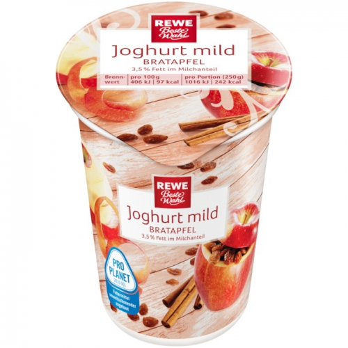 Joghurt mild Bratapfel, Dezember 2017