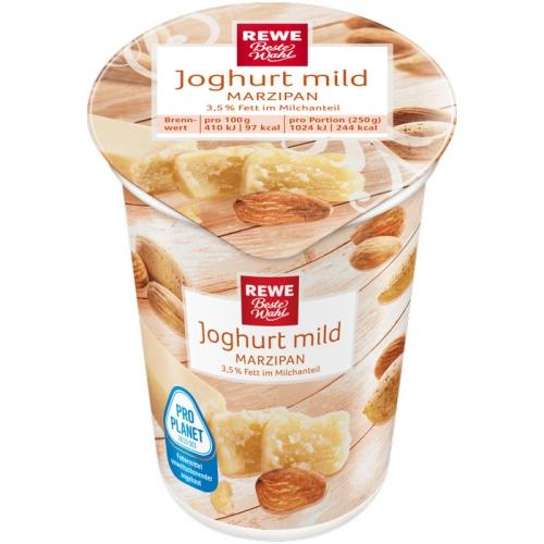 Joghurt mild Marzipan, Dezember 2017