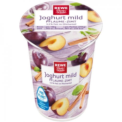 Joghurt mild Pflaume-Zimt, Dezember 2017