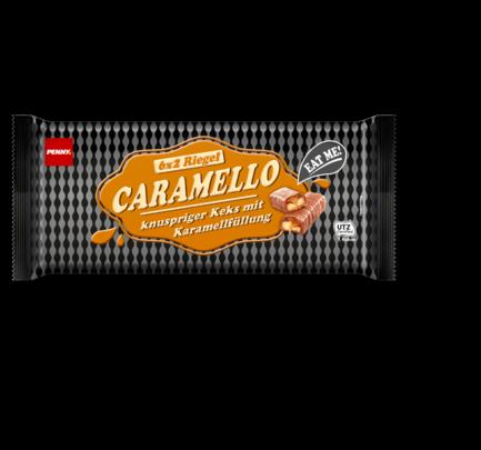 Caramello - Schokoriegel mit Karamell, August 2017