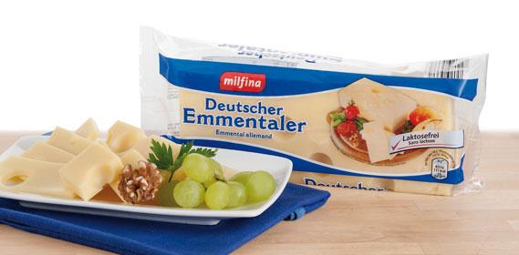 Deutscher Emmentaler im Stück, 400 g, Oktober 2013