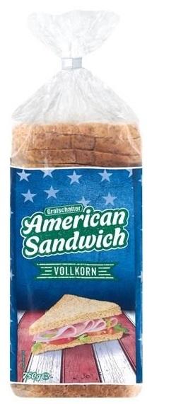 "American Sandwich ""VOLLKORN"", Juli 2017"