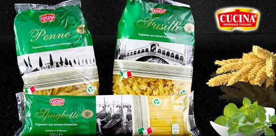 Penne, Spaghetti oder Fusilli, August 2011