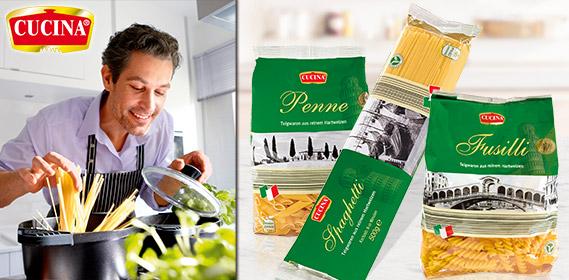 Penne, Spaghetti oder Fusilli, April 2012