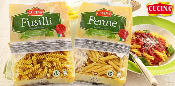Penne, Spaghetti oder Fusilli, Juni 2012
