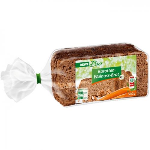 Karotten-Walnuss-Brot, Januar 2018