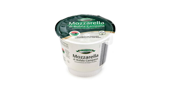 Büffel-Mozzarella, April 2013
