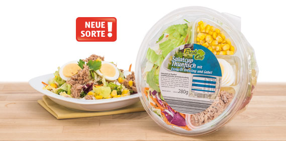 Salatschale mit Dressing, April 2013