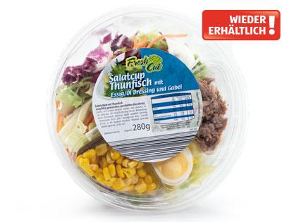 Salatschale mit Dressing, Februar 2014