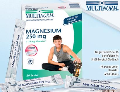 Magnesium 250 mg, Oktober 2013