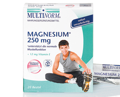 Magnesium 250 mg, August 2014
