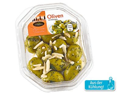Olivenvariation, August 2014