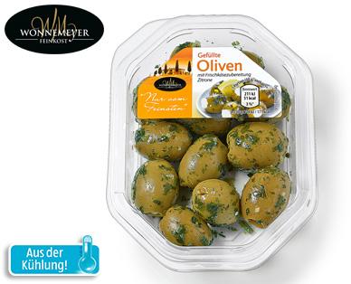 Olivenvariation, November 2014