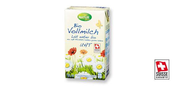 Bio Vollmilch UHT, Juli 2012