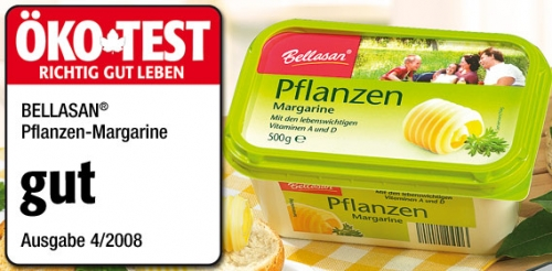 Pflanzen-Margarine, April 2008