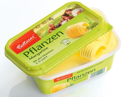 Pflanzen-Margarine, Januar 2014