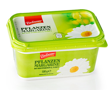 Pflanzen-Margarine, April 2015