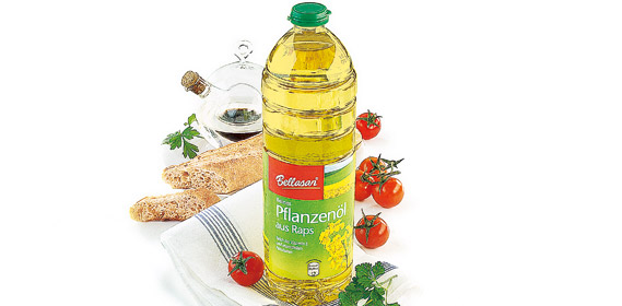Reines Pflanzenöl aus Raps, Juli 2010