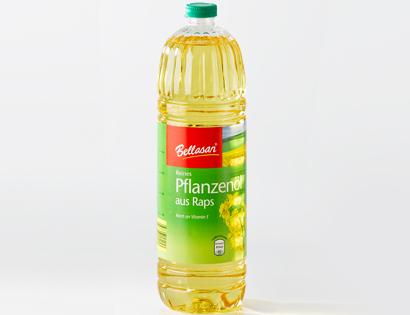 Reines Pflanzenöl aus Raps, Februar 2014