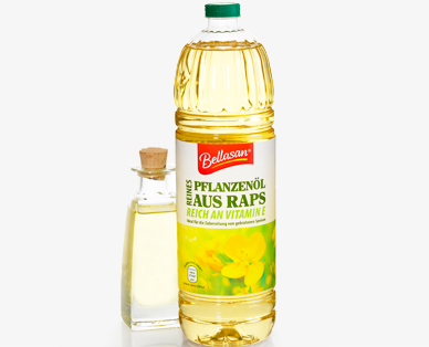 Reines Pflanzenöl aus Raps, August 2014