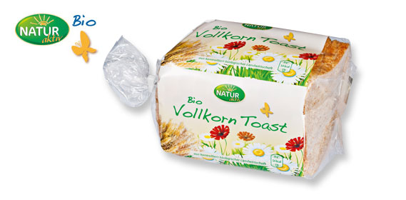 Bio Vollkorn-Toast, April 2012