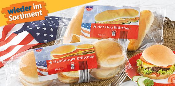 Hamburger- oder Hot Dog Brötchen, Mai 2012
