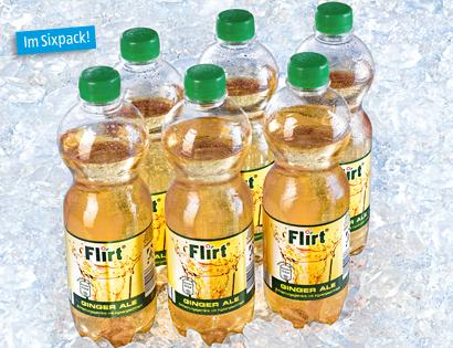Flirt Bitter-Getränk, 6x 0.5 L von Aldi Süd