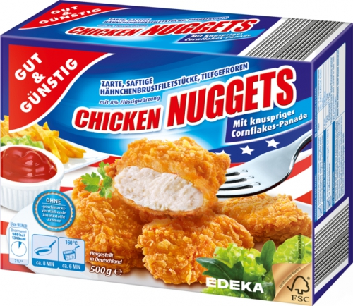 Chicken Nuggets, Dezember 2017