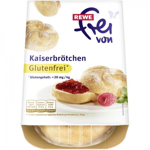Kaiserbrötchen, Glutenfrei, Dezember 2017