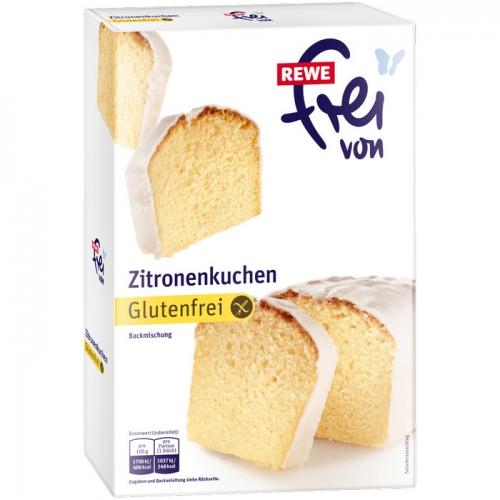 Backmischung Zitronenkuchen, glutenfrei, M�rz 2017