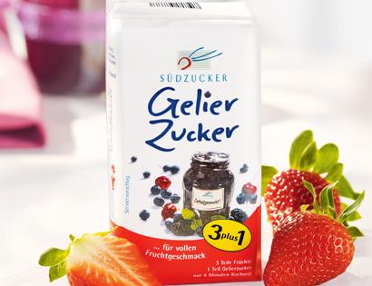 Gelierzucker, 3 plus 1, Mai 2013