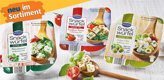 Snack-Würfel, 2x 80 g, Mai 2012