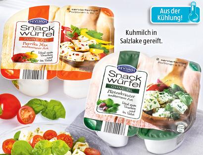 Snack-Würfel, 2x 80 g, Juli 2013