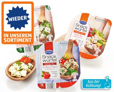 Snack-Würfel, 2x 80 g, April 2015