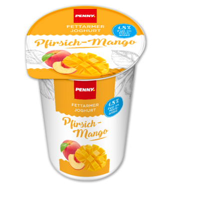 Joghurt fettarm, 1,8% Fett, Februar 2018