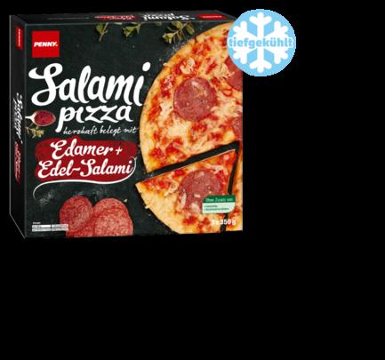 Pizza Salami, 3 Stück, August 2017