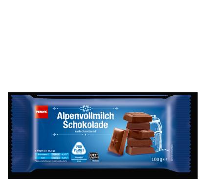 Alpenvollmilchschokolade, M�rz 2016