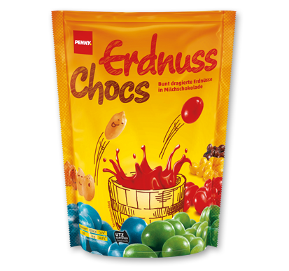 Erdnuss Chocs, Oktober 2016