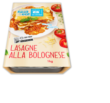 Lasagne Bolognese, April 2016
