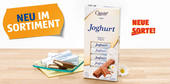Schokoriegel Joghurt, Mai 2012