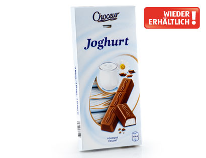 Schokoriegel Joghurt, Mai 2014