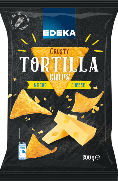 Tortilla Chips Nacho Cheese, Januar 2018