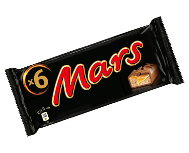 Mars, 6x 45 g, M�rz 2017