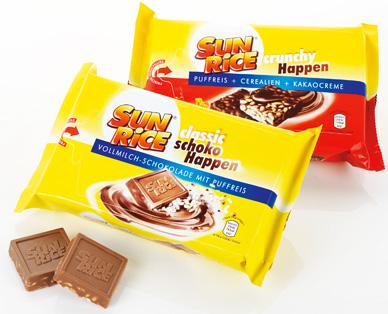 Puffreis mit Schokolade, M�rz 2015